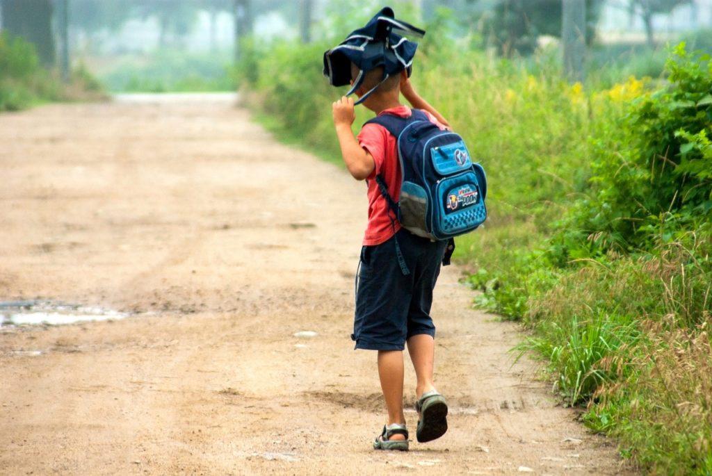 Le chemin de l'école